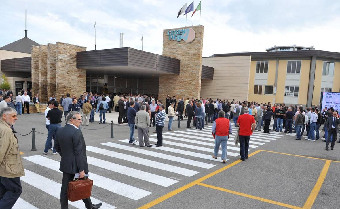 area ristorazione e centro enogastronomico servizi a On fiera cesena
