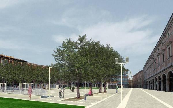 progetto piazza libertà cesena